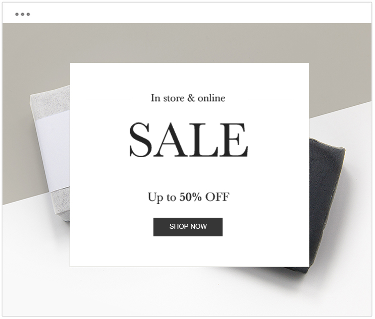 seasonal sales email campaign