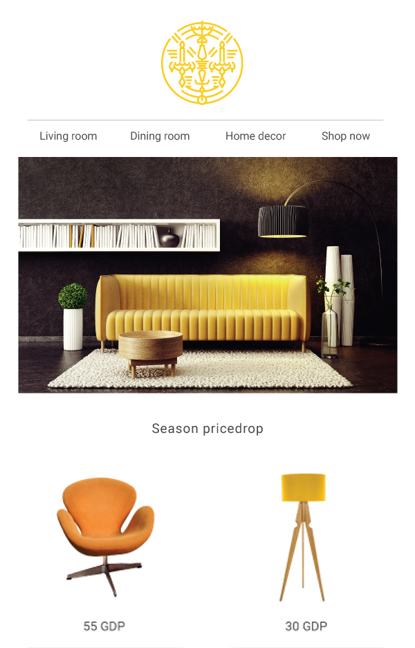 4 a) - Home Furniture Template - PREVIEW